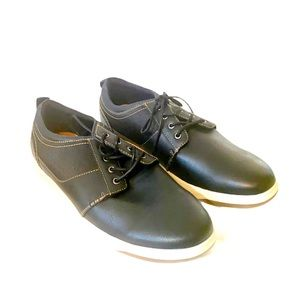 Rye 11.5 Men's Trainers Black Leather New